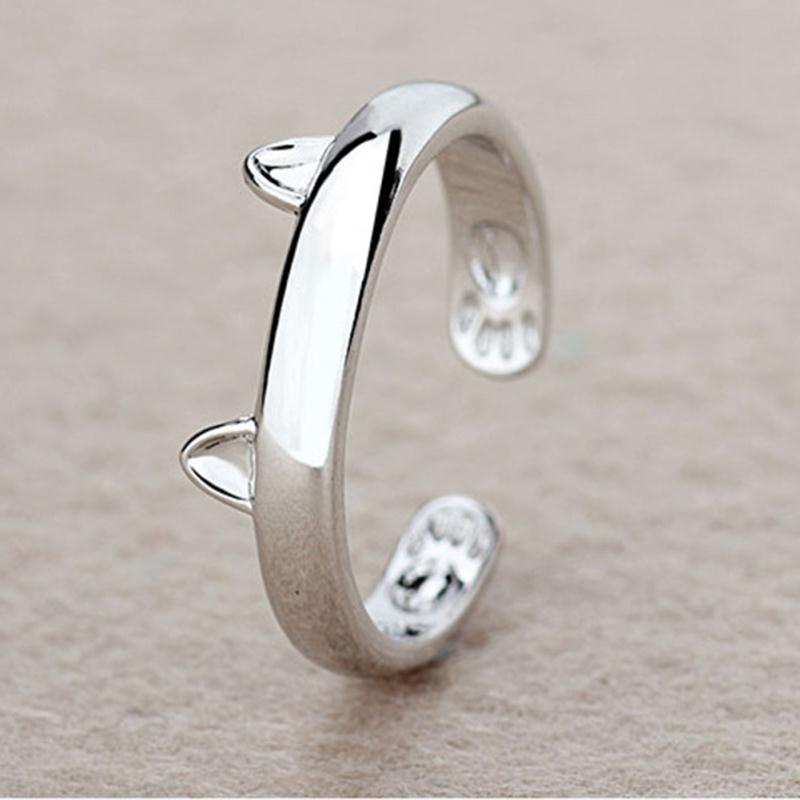 Rings  Rings: Fashion Fox's Head Ring Cute Animal Open Fox Ring for Women Party Gift Simple Lovely Ring Fox Wedding Gifts  R017