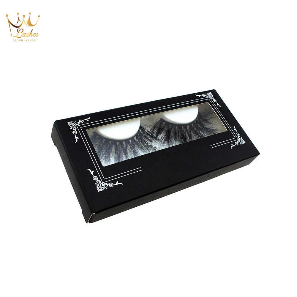 e637844a52d ... Crown Lashes 100 pairs custom eyelash packaging box free logo  individual false eyelashes 3d mink eyelash ...
