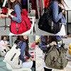 Fashion Korea Style Lady Girls Casual Canvas Large Tote Bag Handbag Shoulder Bag BS88