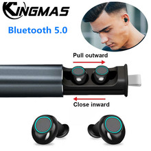 New S5 TWS Bluetooth V5.0 Earphone Stereo Music IPX5 Waterproof True Wireless Earbuds with Charging Box 600mAh For Xiaomi iphone tws earbuds bluetooth 5 0 true wireless earphone waterproof charging box hifi stereo sound bilateral call ipx4 for iphone xiaomi