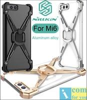 Nillkin Barde Aluminum Alloy Metal Case Bumper For Xiaomi Mi6 Back Cover Frame