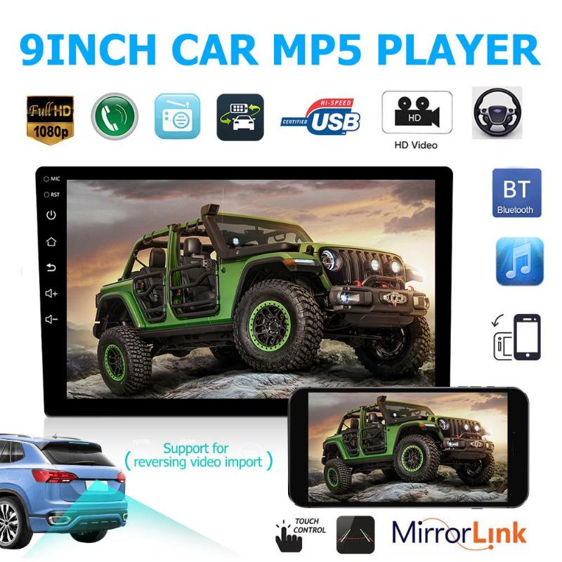 Android 8.1 Car Stereo GPS Navigation 1GB+16GB Bluetooth WiFi USB Radio Receiver Smart Phone Connection and Mirror Link (China)