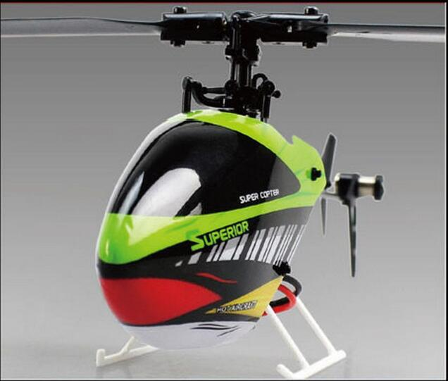 professional RC Helicopter 2 4G 6CH 3D Tumbling Single Blade Flybarless Inverted flight resistanc RC Helicopter