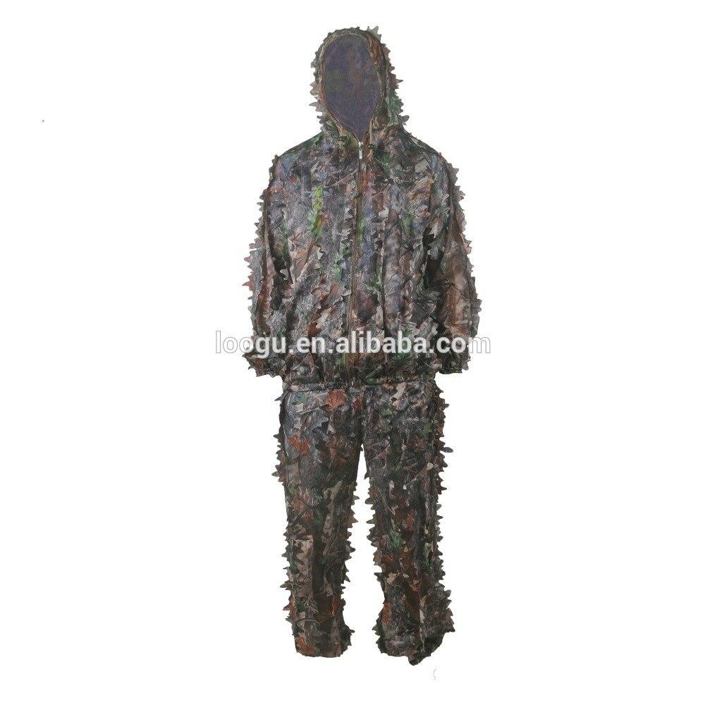 Costume de Camouflage 3D militaire jungle Como vêtements Ghillie costume de chasse