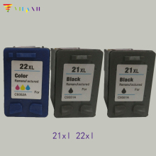Vilaxh compatible 22 xl Ink Cartridge replacement for hp 21 22xl Deskjet F4180 F2180 F2280 D1320 D1455 F2100 cartridge 21 and 22