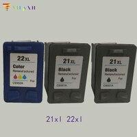 Vilaxh kompatibel 22 xl Tinte Patrone ersatz für hp 21 22xl Deskjet F4180 F2180 F2280 D1320 D1455 F2100 patrone 21 und 22|Tintenpatronen|Computer und Büro -