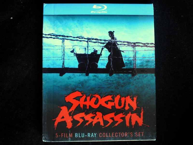 Shogun <font><b>Assassin</b></font> 5-Film <font><b>Blu-ray</b></font> Disc Collector's Set Brand New Region 0 RARE