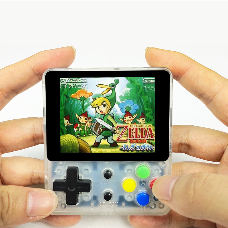 Image 4 - Coolbaby 16G+16/32/64/128/256G OPEN SOURCE Video Handheld Game Console Mini Portable Nostalgic Retro Gaming Player TV Children-in Handheld Game Players from Consumer Electronics