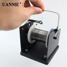 цена на Solder Wire Stand Holder Support Adjustable Solder Reel Dispenser Tin Management Spool Feeder Electric Welding Tool Accessories