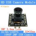 Камера наблюдения 1920*1080p Full MJPEG 30/60/120 кадров в секунду высокая скорость OV2710 Мини CCTV Android Linux UVC веб-камера USB камера модуль