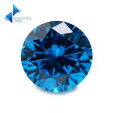 Размер 30 ~ 10 мм темно синий камень из кубического циркония