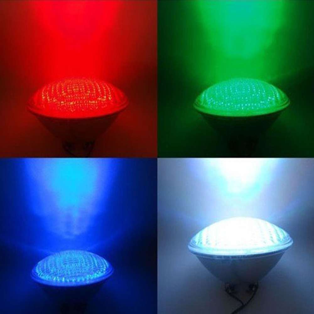Dc12v 40watts Rgb Par56 High Power Led Swimming Pool Light Underwater Light Free Shipping In Led