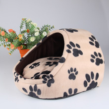 New Arrival Pet Slippers Nest Detachable And Washable Multicolor Kennel Pet Dog Kennel Warm Cat mats Wholesales