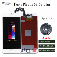 Moymax 5pcs Lot For Iphone 6s 6sp Lcd Display 100 Check And Tested Assembly Replacement No