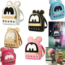 Free Shipping doll Backpack big ears Star rivet bags for blythe bjd accessories pullip tanggo doll