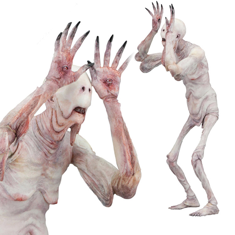 New Arrival Movie cartoon character toy Faun Pans Labyrinth pale man 7 inch action figure movable dollNew Arrival Movie cartoon character toy Faun Pans Labyrinth pale man 7 inch action figure movable doll