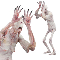 New Arrival Movie cartoon character toy Faun Pans Labyrinth pale man 7 inch action figure movable doll
