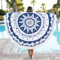 Durable bandana cachecol toalha de Praia Rodada Hippie Mandala Tapeçaria Praia Jogar Roundie Toalha Tapete de Yoga da índia Boêmio