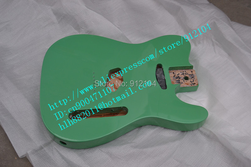 New Variety Of  Alder Electric Guitar Body In Green Made In China Can Be Customized+foam Box F-1666