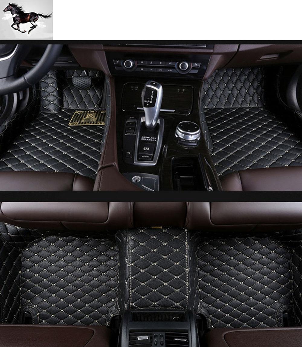 Rubber floor mats for lincoln mkx - Custom Full Set Car Floor Mats Carpets For Cadillac Xts Waterproof Leather 3d Floor Mat Suv