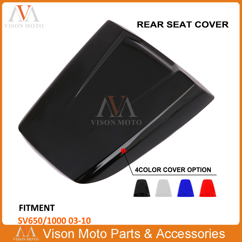 Rear Seat Cover <font><b>Fairing</b></font> Cowl Protector For <font><b>Suzuki</b></font> SV650 <font><b>SV1000</b></font> SV 650 1000 2003 2004 2005 2006 2007 2008 2009 2010 Motorcycle image