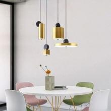 Металлические подвесные светильники из матовой бронзы комбинированная