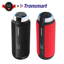 100 Original Tronsmart Element T6 Portable Bluetooth Speaker 25W DSP 360 Stereo Sound Deep Bass outdoor portable mini Speaker cheap Battery Plastic Full-Range 2 (2 0) Phone Function NONE 60Hz-23KHz Wireless