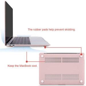 Image 3 - MOSISO קריסטל מט חלבית מקרה כיסוי שרוול עבור Macbook Air 11 אוויר 13 אינץ A1466 A1932 Mac Pro 13 15 רשתית A1706 A1708 A1989