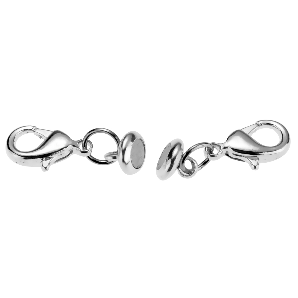 Magnetic Lobster Lock Clasps for Necklace Bracelet 20Pc Jewelry Fashion Extender