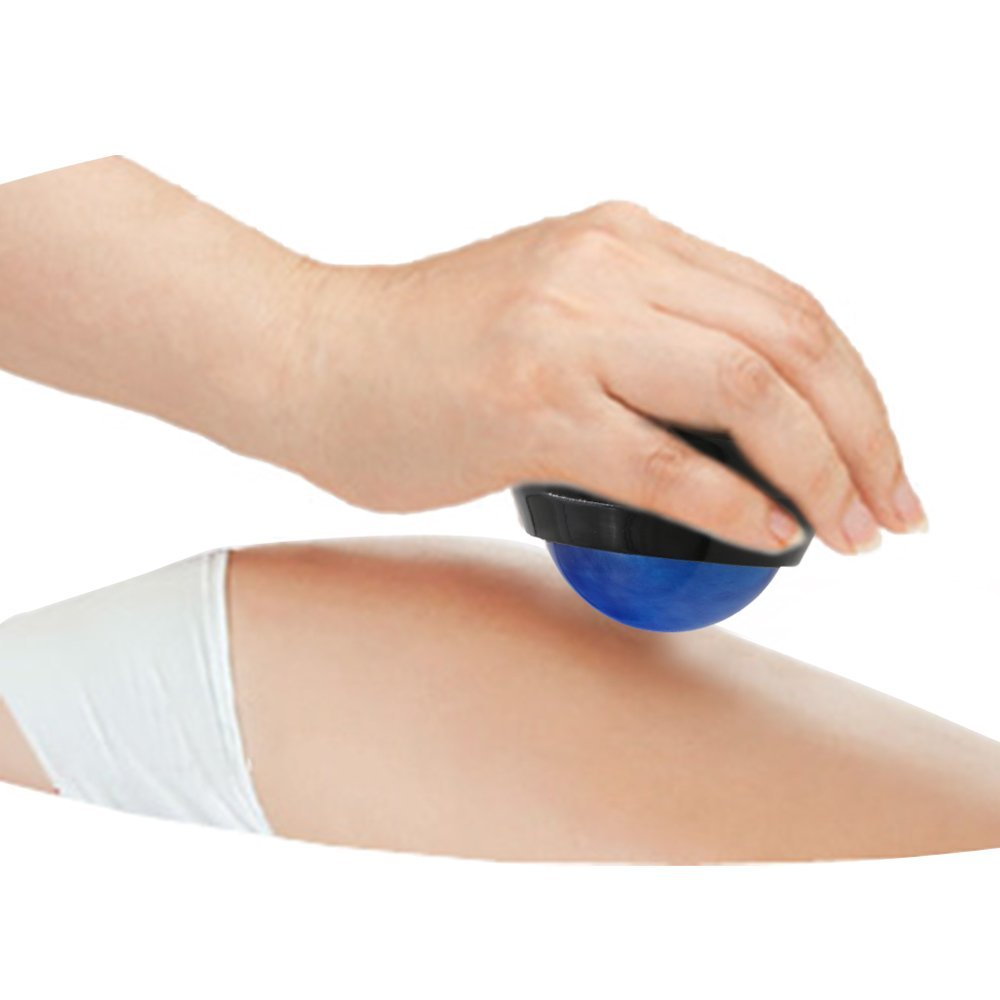 Massage Roller Relax Ball Effective Back Roller Massager Pain Relief Body Health Care Yoga Ball Z45301 peanut shaped ball massager roller dual connecting balls muscle relax massage gym sport full body bar sport yoga fitness tool