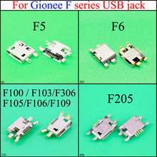 YuXi Micro USB Charger Charging Connector scoket For Gionee F100 / F103/F306/ F105/F106/F109 /F5/F6/F205 USB Jack aarhon 4 f106 1293