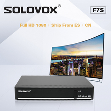 SOLOVOX F7S TV Box Satellite TV  Receiver Support USB Home Cinema Support Biss Key WEB TV LIVE WHEEL + UK LIVE channel