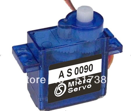 Free Shipping 5X AS3003 mini servo SG90 9g Micro Servo for helicopter airplane 6CH for RC