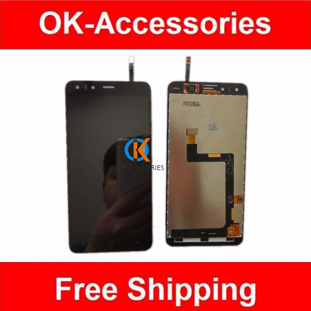 5 Inches Original Quality 100% For Highscreen Hercules LCD Display +Touch Digitizer Screen Assembly 1PC/Lot With Free Tools