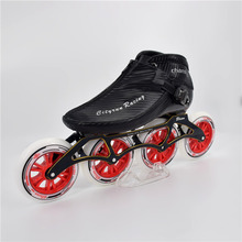CITYRUN Champion Racing 4 Wheels Track Race Competition Inline Speed Skates 4X110mm 4X100mm 4X90mm Frame 110mm 100mm 90mm Wheel