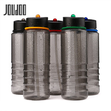 JOUDOO Flip Straw Water Bottle Sports Hydration Drinks Hiking Cycling Camping Drinking Tools 800ML Black 10