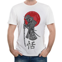 EXCLUSIVE Creative Cool Japanese Samurai Letter Warrior T Shirt For Both Men And Women
