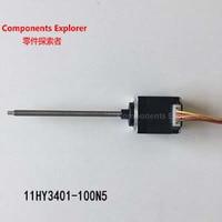 Nema11 34mm threaded rod stepper motor with Tr5*2 lead screw 11HY3401 100N5
