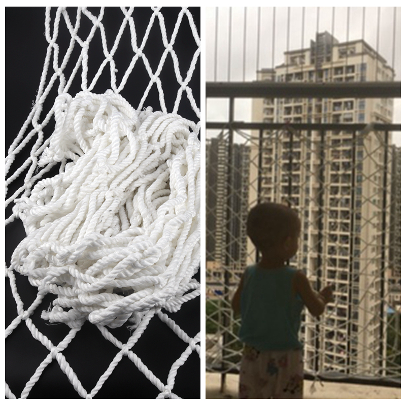 1m Child Safety Net Home Pet Dog Plush Cat Balcony Railing Stairs Fence Children Playground Guardrail Kids Safety Netting