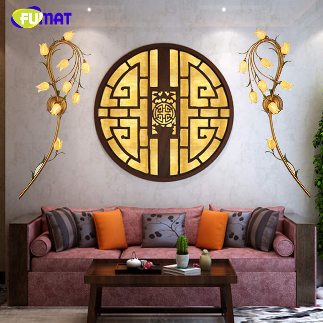 FUMAT Amerikanischen Stil Wandleuchte Aisle Kreative Kurze Wohnzimmer Nacht  Kunst Wandleuchte Wandlampen Künstlerische Hintergrund LED Wandleuchte