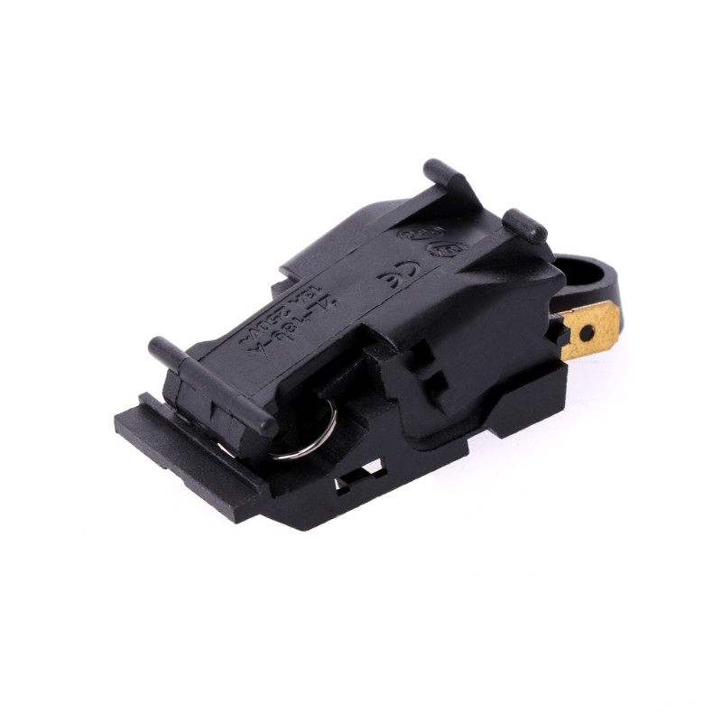 1PC 13A Electric Kettle Thermostat Switch 2 Pin Terminal Kitchen Appliance Parts replacement ac 250v 13a temperature control kettle thermostat top socket
