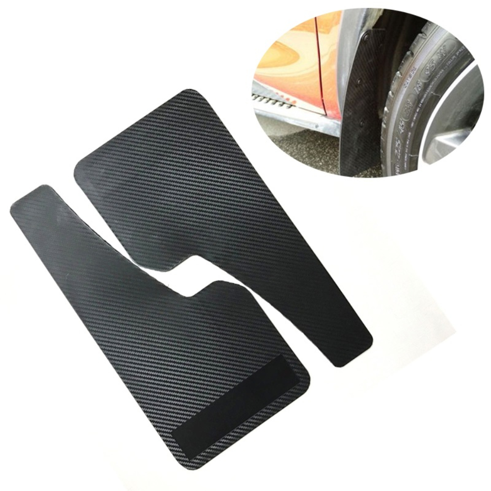 2PCS Auto Mudflaps Wheel Moulding Fender Mudguard Left & Right Universal For SUV Car Racing Car Truck Van Mudguard|Mudguards| |  -