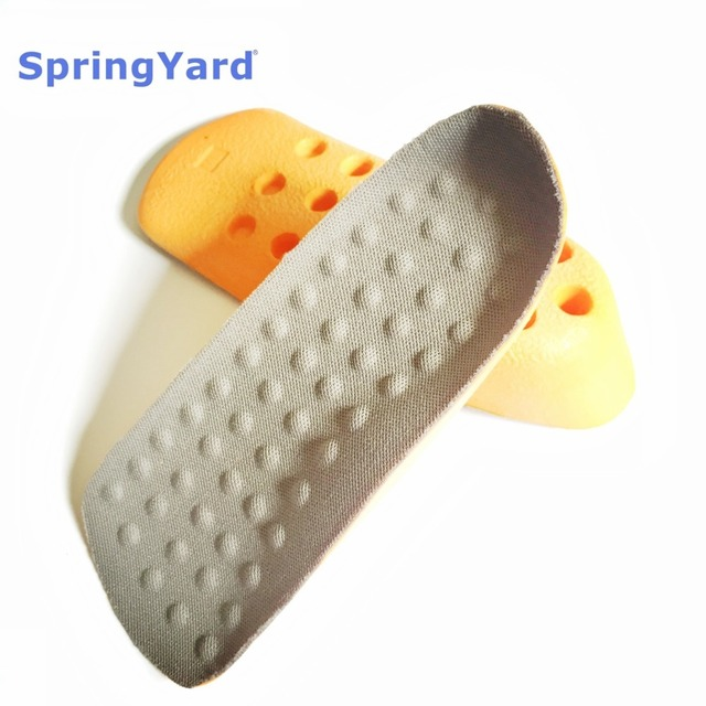 (2 Size) PU Form Heighten Height Increase Insoles for Men Shoes Woman,Heel half Pad In Sock Invisible,Cushion,Arch Support