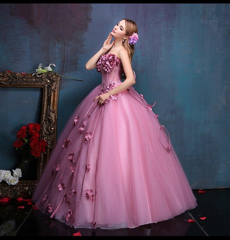 100% real Flor de hadas rebordear floral vid vestido medieval del ...