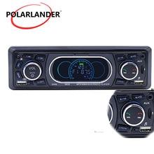Touch Тон AUX/TF/USB MP3 плеер BT Hands-free вызова 1 Din FM дистанционного Управление аудио автомагнитолы 12 В 4*60 Вт стерео