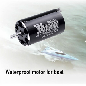 Image 3 - SURPASSHOBBY roket 3660 3250KV 2600KV 4P fırçasız Motor Traxxas M41 katamaran Spartan 800mm 1000mm RC tekne araba