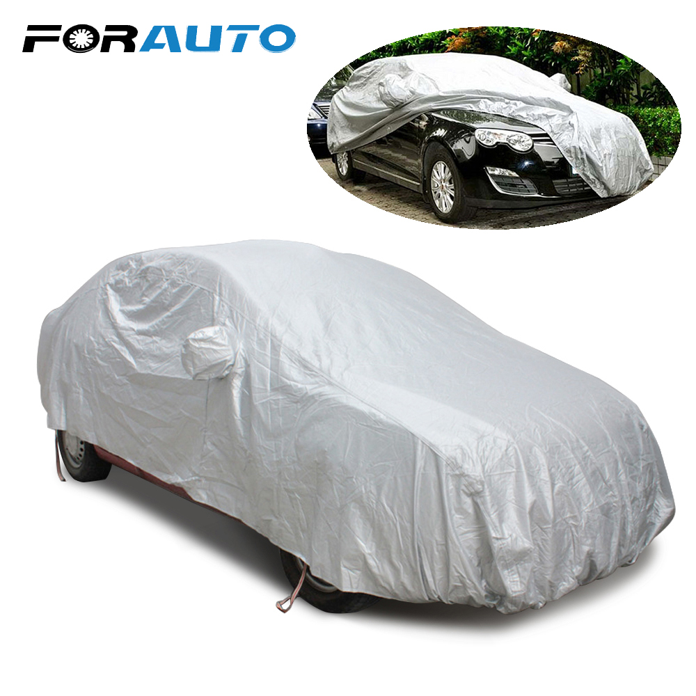 Car styling Car Cover Snow Shield Scratch Resistant Durable Case for The Auto Sun Shade Anti-UV Protection Waterproof Fashion buildreamen2 car cover auto outdoor sun shade anti uv snow rain scratch dust resistant cover waterproof fit for tesla model s x