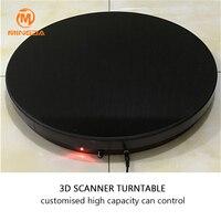 3D сканер вращающийся поднос Professional 100 кг максимальная емкость 3D сканер Проигрыватель Скорость зарядки пульт дистанционного управления пов