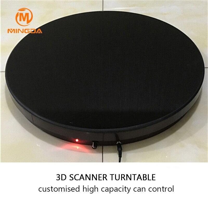 3D Scanner plaque tournante professionnel 100Kg capacité maximale 3D Scanner plaque tournante vitesse Charge télécommande plaque pivotante 3Ds-3