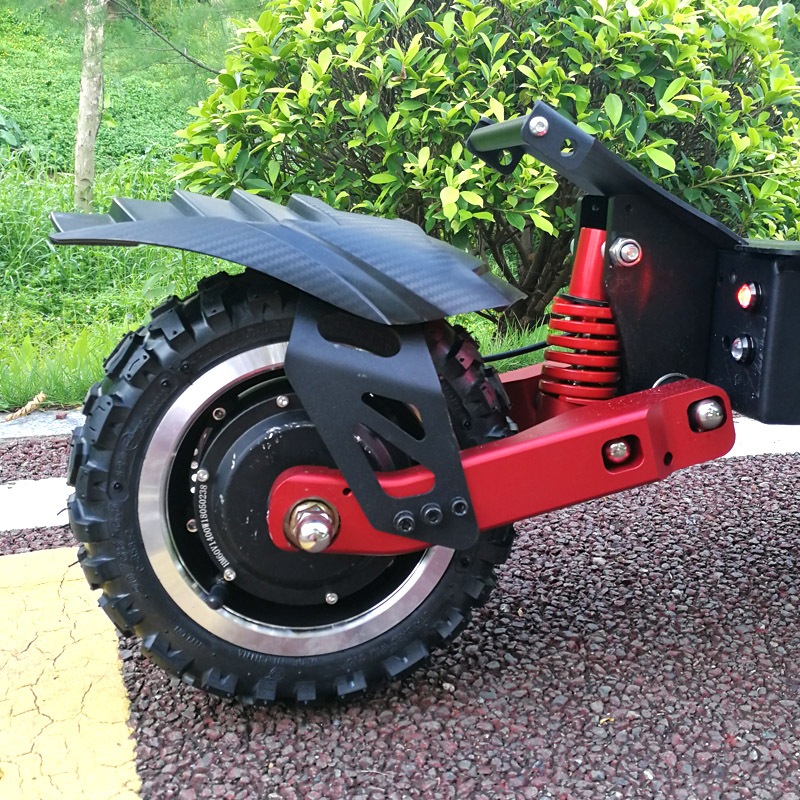 FLJ Newest Design Foldable Electric Scooter for Adults with 3200W motor wheel electric scooter off road fat tire kick Scooter 3